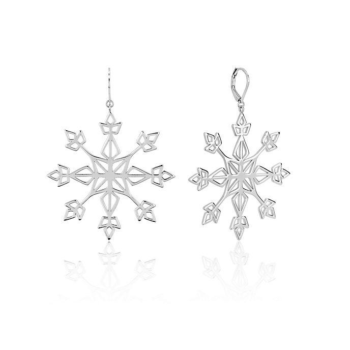 Pendientes colgantes copo de nieve, Frozen 2, Couture Kingdom
