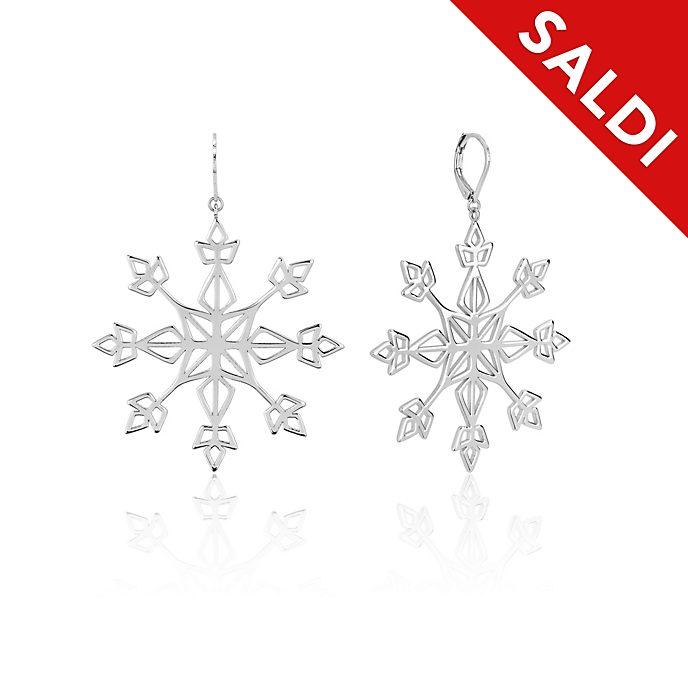 Orecchini a goccia con fiocco di neve Frozen 2: Il Segreto di Arendelle Couture Kingdom