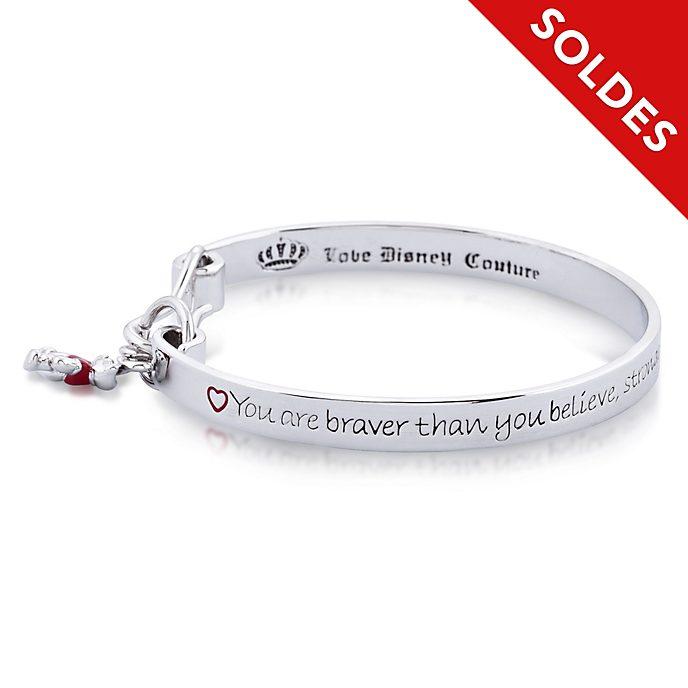 Couture Kingdom Bracelet Winnie l'Ourson plaqué or blanc