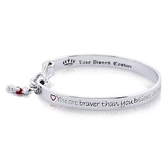 Couture Kingdom Bracelet Winnie l'Ourson plaqué or blanc