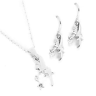 Disney Store - Tinkerbell - Set aus Halskette und Ohrringen