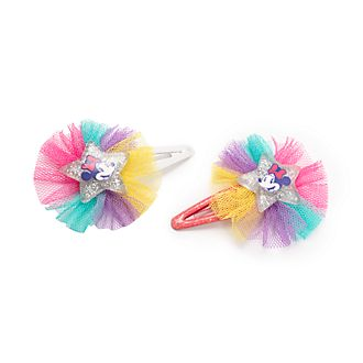 Disney Store Minnie Mouse Hair Clips, Pack of 2