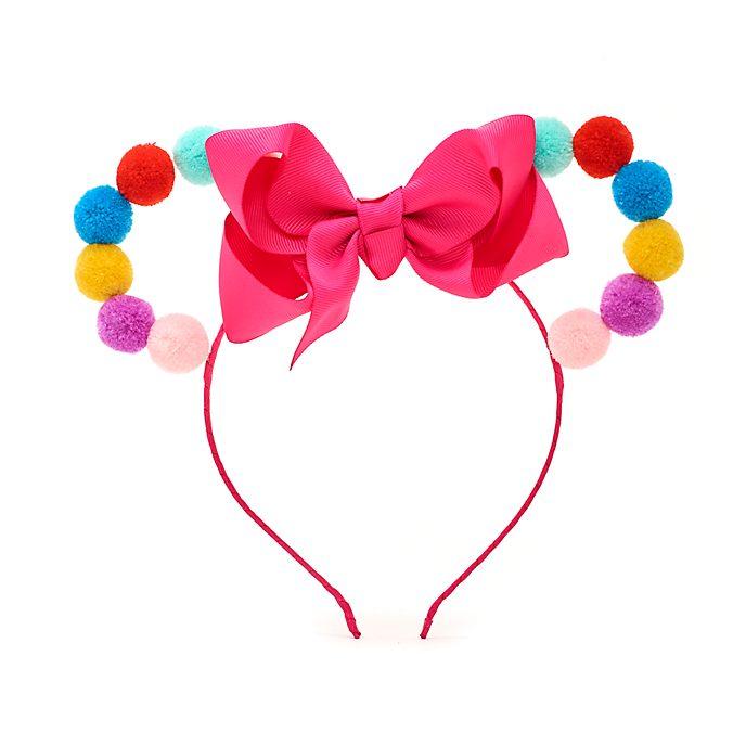Disney Store Serre-tête à oreilles de Minnie en pompons pour enfants