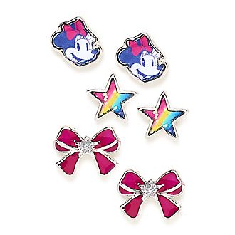 Minni Disney Store, 3 paia di orecchini a bottone