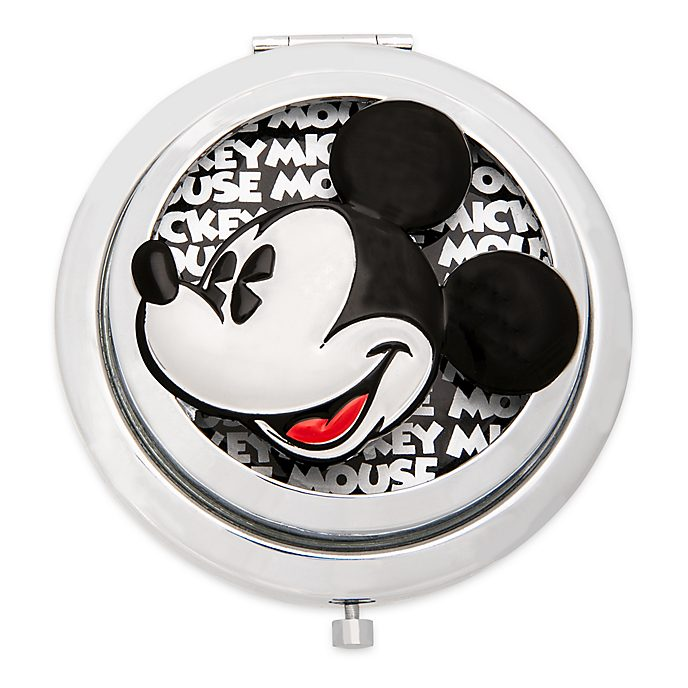 Disney Store Mickey Mouse Greyscale Compact Mirror
