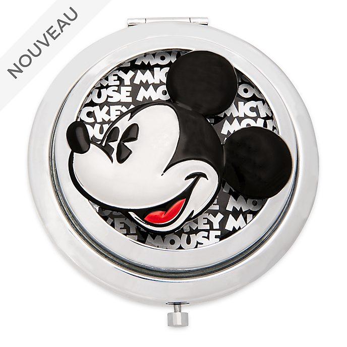 Disney Store Miroir de poche Mickey Mouse Greyscale