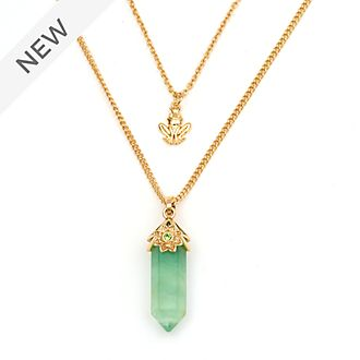 Disney Store Tiana Fluorite Necklace For Adults, The Princess and the Frog