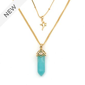 Disney Store Princess Jasmine Amazonite Necklace For Adults, Aladdin