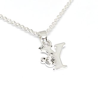 Disney Store Mickey Mouse 'Y' Initial Necklace