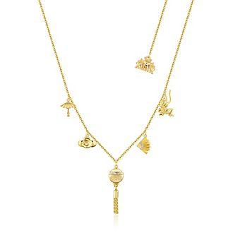 Couture Kingdom - Mulan - vergoldete Halskette mit Anhänger
