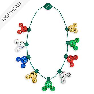 Disney Store Collier lumineux Mickey, Holiday Cheer