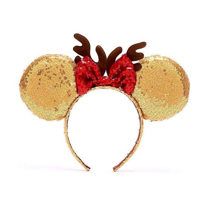 Cerchietto natalizio con orecchie bimbi Minni Disney Store