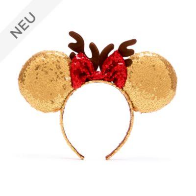 Disney Store - Minnie Maus - festlicher Haarreif mit Ohren für Kinder