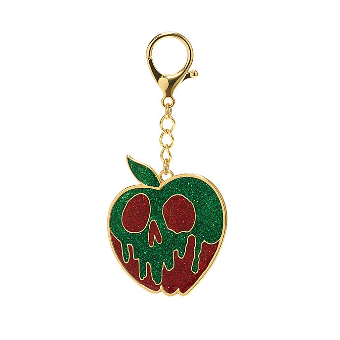 Disney Store Poison Apple Bag Charm, Snow White and the Seven Dwarfs