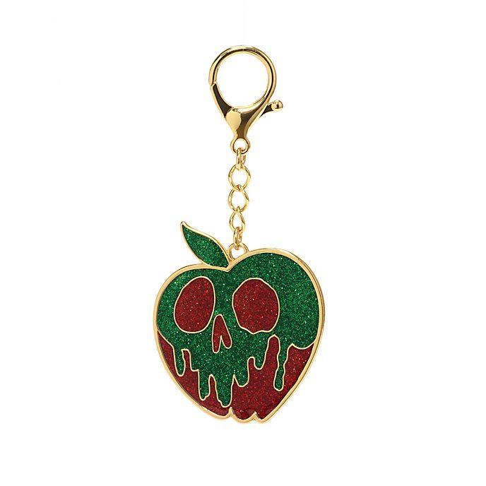 Abalorio para bolso manzana envenenada, Blancanieves y los siete enanitos, Disney Store
