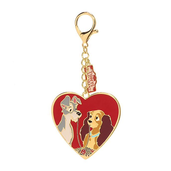 Disney Store Lady and the Tramp Bag Charm