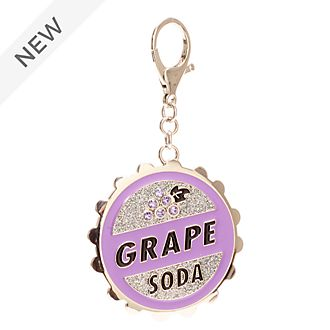 Disney Store Grape Soda Bottlecap Bag Charm, Up