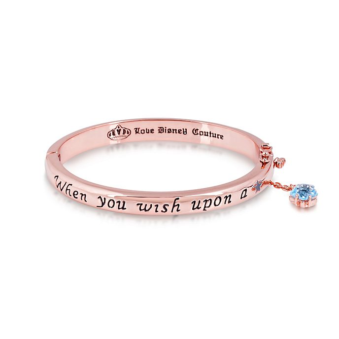 Bracelet plaqué en or rose Couture Kingdom, Pinocchio
