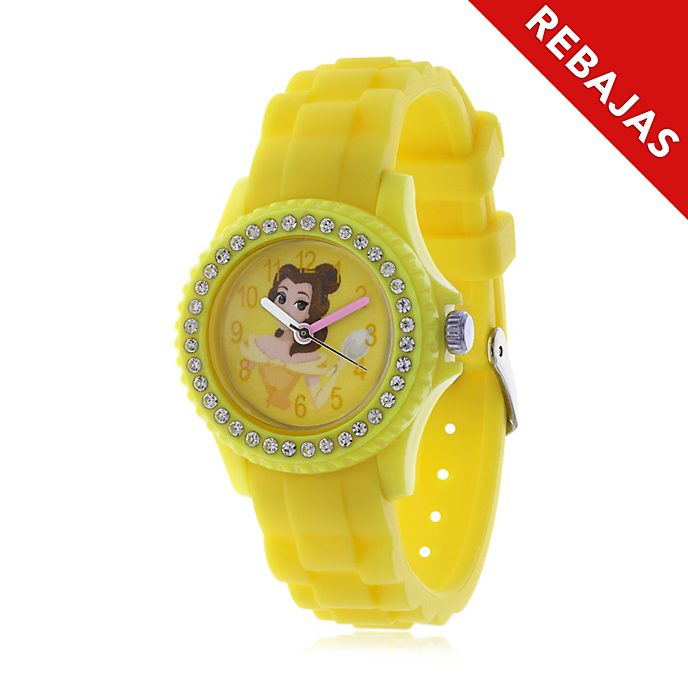 Reloj infantil silicona Bella, La Bella y la Bestia