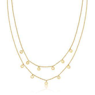 Collar bañado en oro Mickey Mouse, Couture Kingdom
