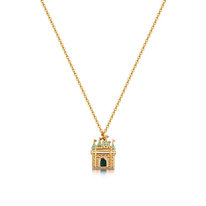 Collana placcata oro con pendente Cenerentola, Couture Kingdom