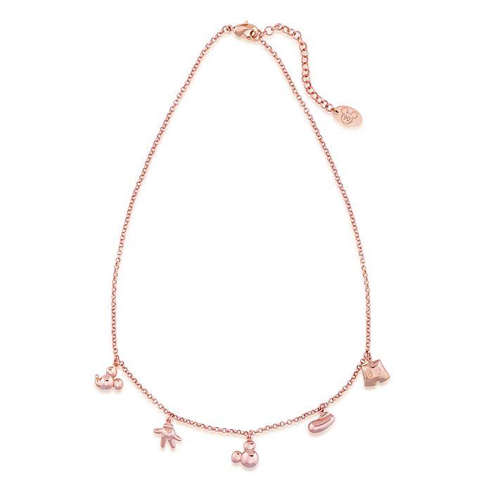 Couture Kingdom - Micky Maus - Rosévergoldete Halskette mit Anhänger
