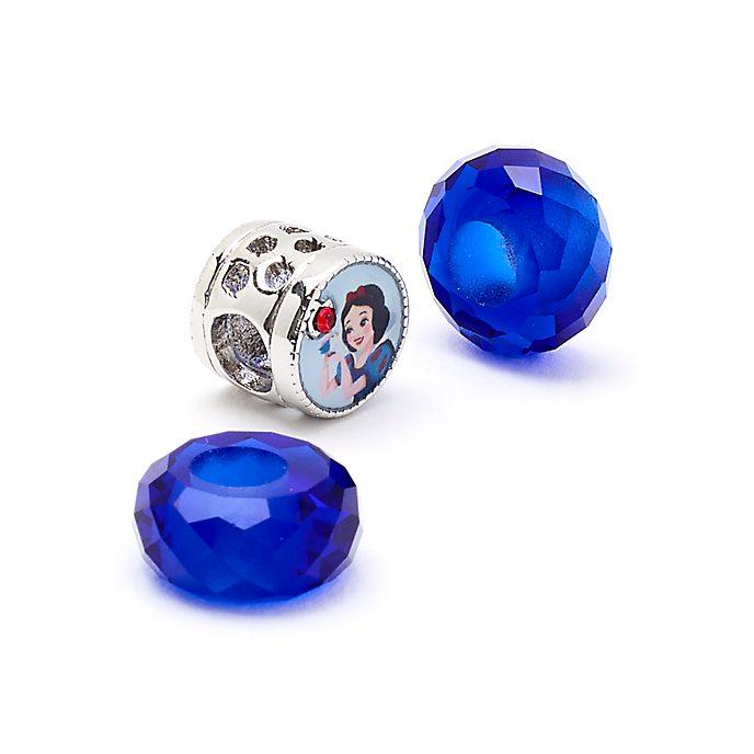 Disney Store Ensemble de perles Blanche Neige Disney Princess Charm, Décembre