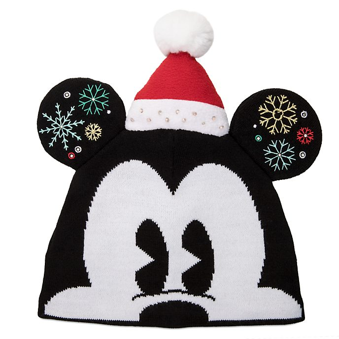 Cappello in maglia adulti Topolino Holiday Cheer Disney Store