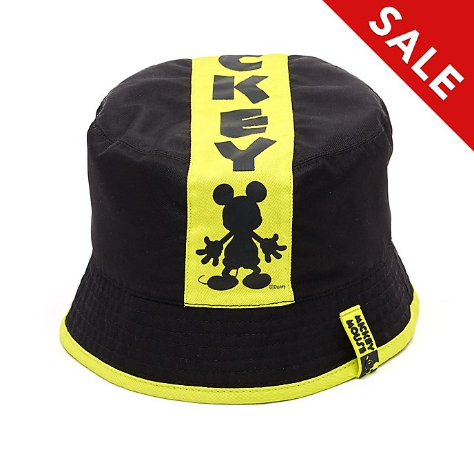 Disney Store Mickey Mouse: Neon Festival Reversible Bucket Hat