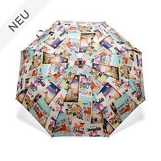 Disney Store - Disney Klassiker - Regenschirm im Filmposterdesign