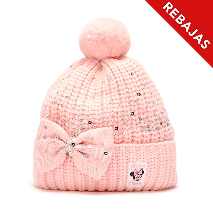Gorro punto Minnie Mouse para adultos, Disney Store