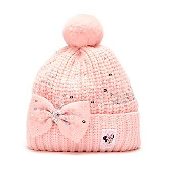Disney Store Bonnet tricoté Minnie pour adultes