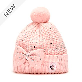 Disney Store Minnie Mouse Knitted Hat For Adults