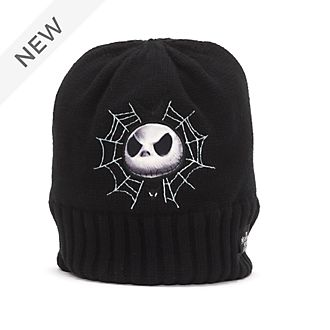 Disney Store Jack Skellington Beanie For Adults