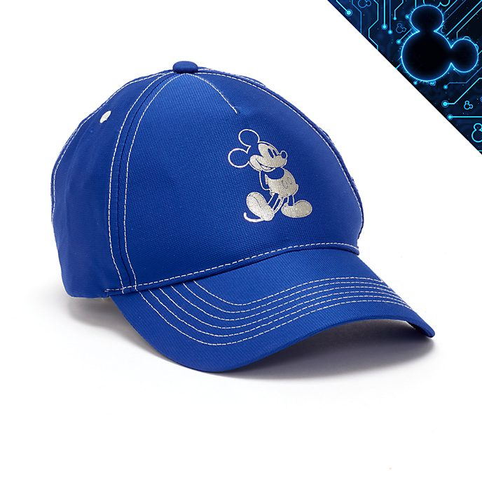 Walt Disney World Mickey Mouse Wishes Blue Cap For Adults