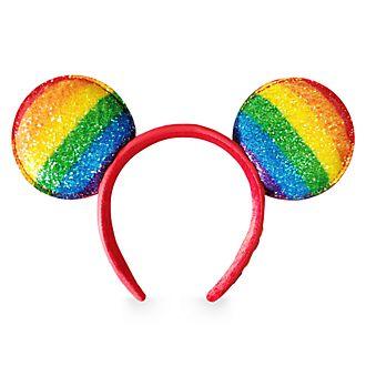 Cerchietto orecchie adulti Topolino Rainbow Disney, Disney Store