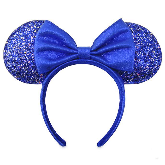 Disney Store Serre-tête oreilles de Minnie pour adultes, Wishes Blue Colour Story