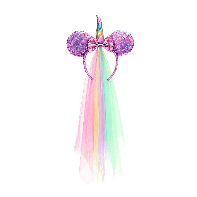 Walt Disney World Serre-tête à oreilles de Minnie Licorne pour adultes