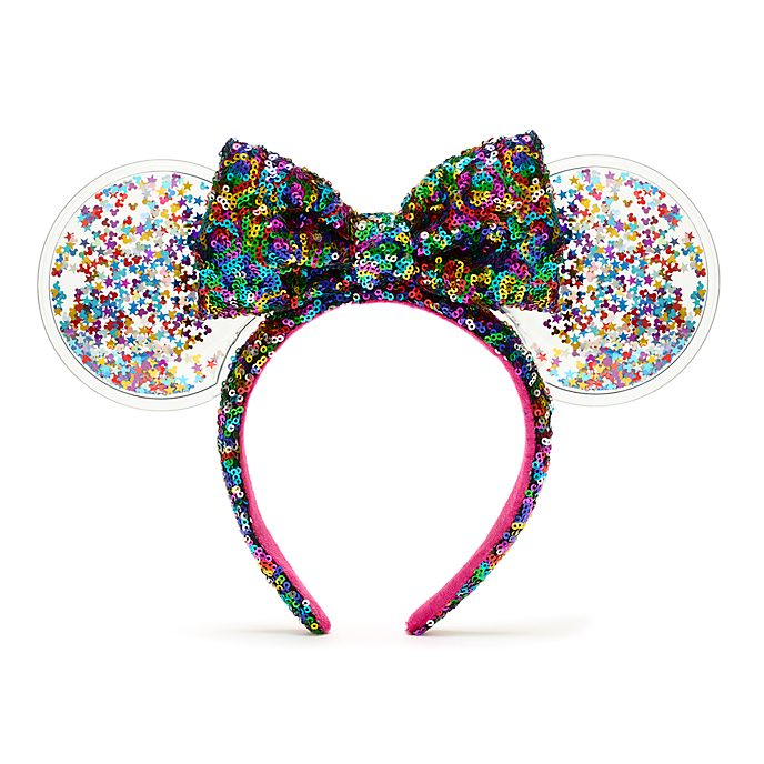 Walt Disney World Minnie Mouse Celebration Sequin Ears Headband for Adults
