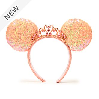 Walt Disney World Disney Princess Minnie Mouse Ears Headband for Adults