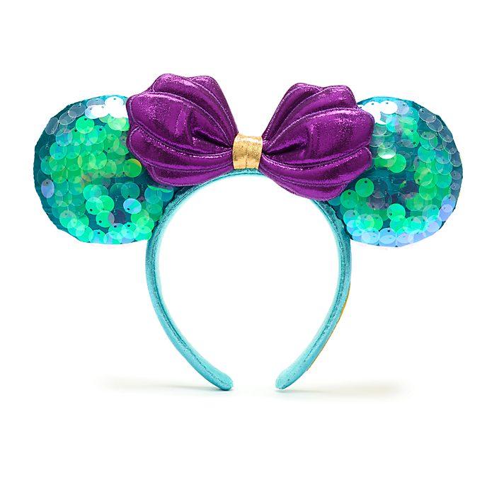 Walt Disney World The Little Mermaid Minnie Mouse Ears Headband for Adults