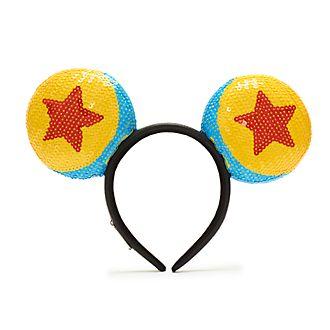 Diadema de orejas de Mickey Mouse de pelota Pixar para adultos, Loungefly
