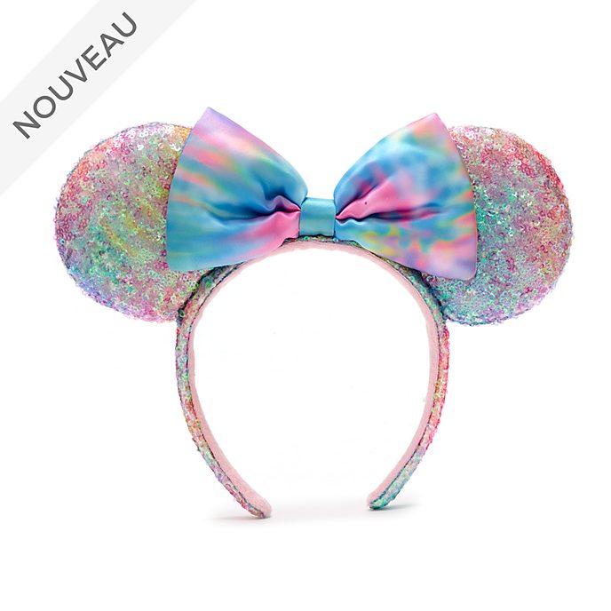 Walt Disney World Serre-tête à oreilles de Minnie pastel avec sequins pour adultes