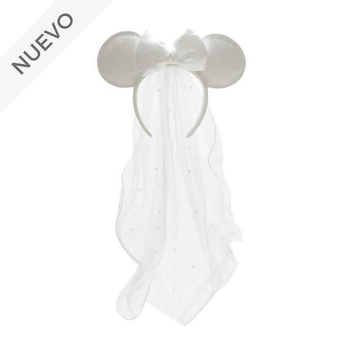 Diadema nupcial con orejas Minnie Mouse para adultos, Walt Disney World