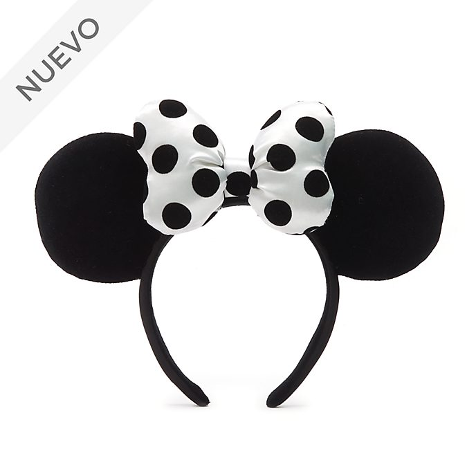 Walt Disney World diadema con orejas monocromática Minnie Mouse para adultos