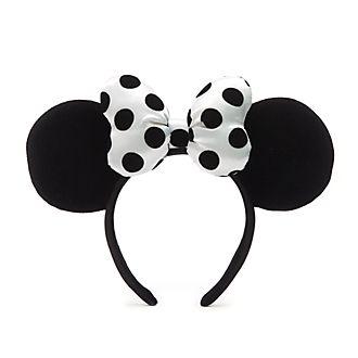 Walt Disney World Minnie Mouse Monochrome Ears Headband for Adults