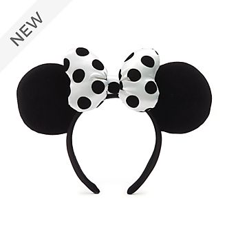 Walt Disney World Minnie Mouse Monochrome Ears Headband for Adults