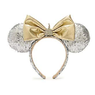 Walt Disney World diadema con orejas y castillo Minnie Mouse para adultos