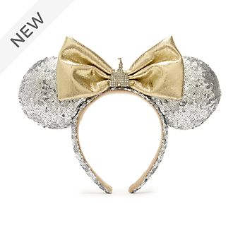 Walt Disney World Minnie Mouse Castle Ears Headband for Adults