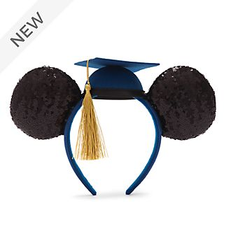 Walt Disney World Mickey Mouse Graduation 2021 Ears Headband For Adults